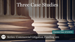 "Financial Poise™ and West LegalEd Center Announce ""COMMERCIAL LITIGATION FUNDING 101 - 2018: Three Case Studies,"" a Webinar Premiering June 12th at 1:00 PM CST"