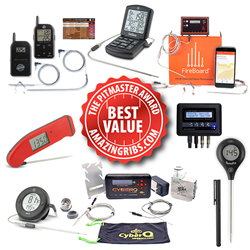2018 AmazingRibs.com Pitmaster Awards for Best Value Cooking Thermometers