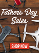 DJI Father's Day Sale at Drone-World.com Celebrates Dad with Mavic Pro, Phantom 4 & Spark Deals