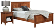Elegant Simplicity Highlights Shaker Bedroom Collection from Weaver Furniture Sales