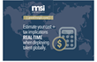 MSI Releases a New State-of-the Art Cost Estimation Tool and Announces New Relationship with AIRINC