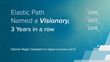 Gartner Names Elastic Path a Visionary, Third Year in a Row