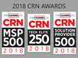 InterVision Receives Three CRN Awards for its Deep Technical Expertise, Breadth of IT Solutions, and Advanced Managed Services