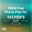 Tello Mobile Offers a 100% Discounted Phone Plan for Father's Day: 2GB, Unlimited Talk &  Text