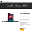 Pixel Film Studios Releases ProFilter Energy for Final Cut Pro X.