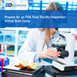 Prepare for an FDA Food Facility Inspection: Virtual Boot Camp – Live Webinar by AudioEducator