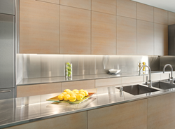 Alloy LED's ThruLine Under Cabinet Fixtures In Use
