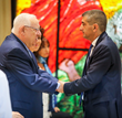 Supporters of Sheba Medical Center, Tel Hashomer Meet with Israeli President Reuven Rivlin to Celebrate the 70th Anniversary of Israel and its National Hospital