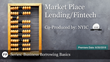 "The New York Institute of Credit & Financial Poise™ Air ""Market Place Lending/Fintech,"" a Webinar, on June 20, at 2pm CST Through West LegalEdcenter"
