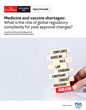 PDA-Funded Study on Post-Approval Changes Published by The Economist Intelligence Unit