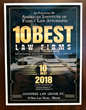 Goostree Law Group, P.C., Honored as a 10 Best Family Law Firm in Illinois