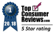 Company Incorporation Service Achieves Highest Rating with TopConsumerReviews.com