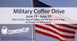 Crimson Cup to Hold Military Coffee Drive June 24 to June 30