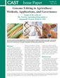 Genome Editing in Agriculture--New CAST Issue Paper