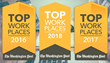 The Washington Post Names Unanet a Winner of the Greater Washington Area 2018 Top Workplaces Award