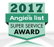 Sir Grout's Franchises Have Been Presented with the 2017 Angie's List Super Service Award for Their Excellent Work