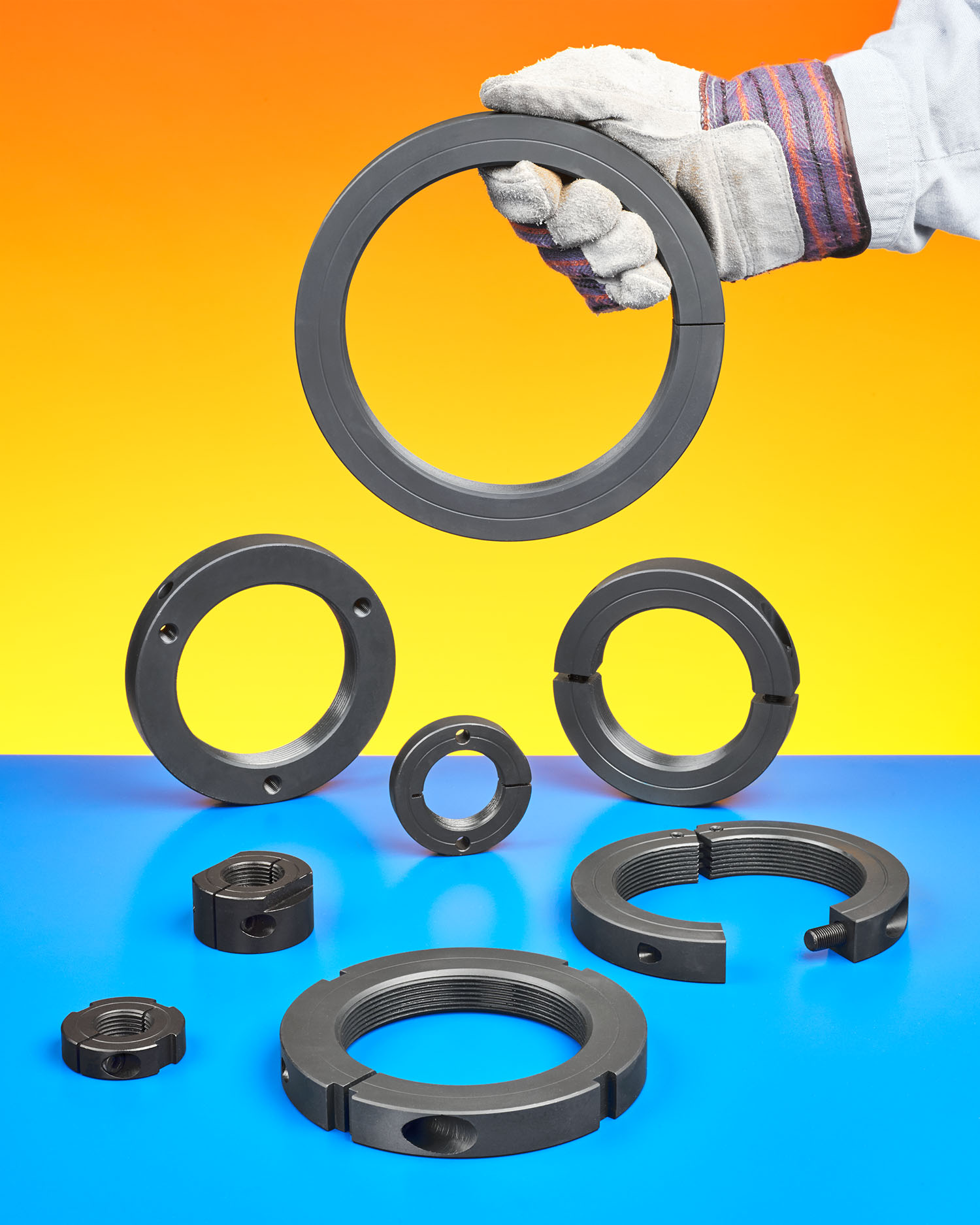Stafford s new special threaded shaft collars bearing