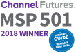 Aegis Technology Partners Ranked Among Top 501 Global Managed Service Providers by Channel Futures 3rd Year in a Row!