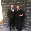 Brian Yeager and Michelle Yeager-Thornton of The Champion Companies win Ernst & Young Entrepreneur of the Year Award