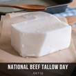 In Tribute to Tasty Fries and More, Healthy Fats Coalition Celebrates July 13 as First-Ever #NationalBeefTallowDay
