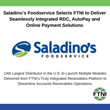 Saladino's Foodservice Selects FTNI to Deliver Seamlessly Integrated RDC, AutoPay and Online Payment Solutions