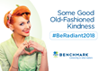 Benchmark Honors Social Wellness Month With Return of 'Radiant Acts of Kindness' Campaign