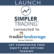 Simpler Trading Partners with Tradier Brokerage to Offer Unlimited Commission Free Stock and Options Trading