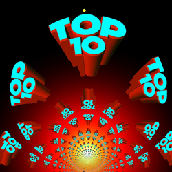 Top 10 via Pixabay (Creative Commons)