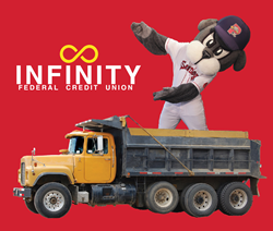 "Join Infinity Federal Credit Union (FCU) at its Arundel branch on 1298 Alfred Rd. on July 21 from 11 a.m. to 2 p.m for its first Touch-A-Truck event. A visit from Portland's Sea Dogs mascot, Slugger, is scheduled from 11 a.m. to noon, while the ""bleeping and blinking"" portion of the event is planned for the last hour, from 1 p.m. to 2 p.m."