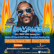 DJ Snoopadelic to Bring the Heat When He Spins at One of Summer's Biggest Party Events on Aug. 18 at eSports Arena in Santa Ana, California