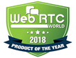 VirtualPBX Receives the 2018 WebRTC Product of the Year Award