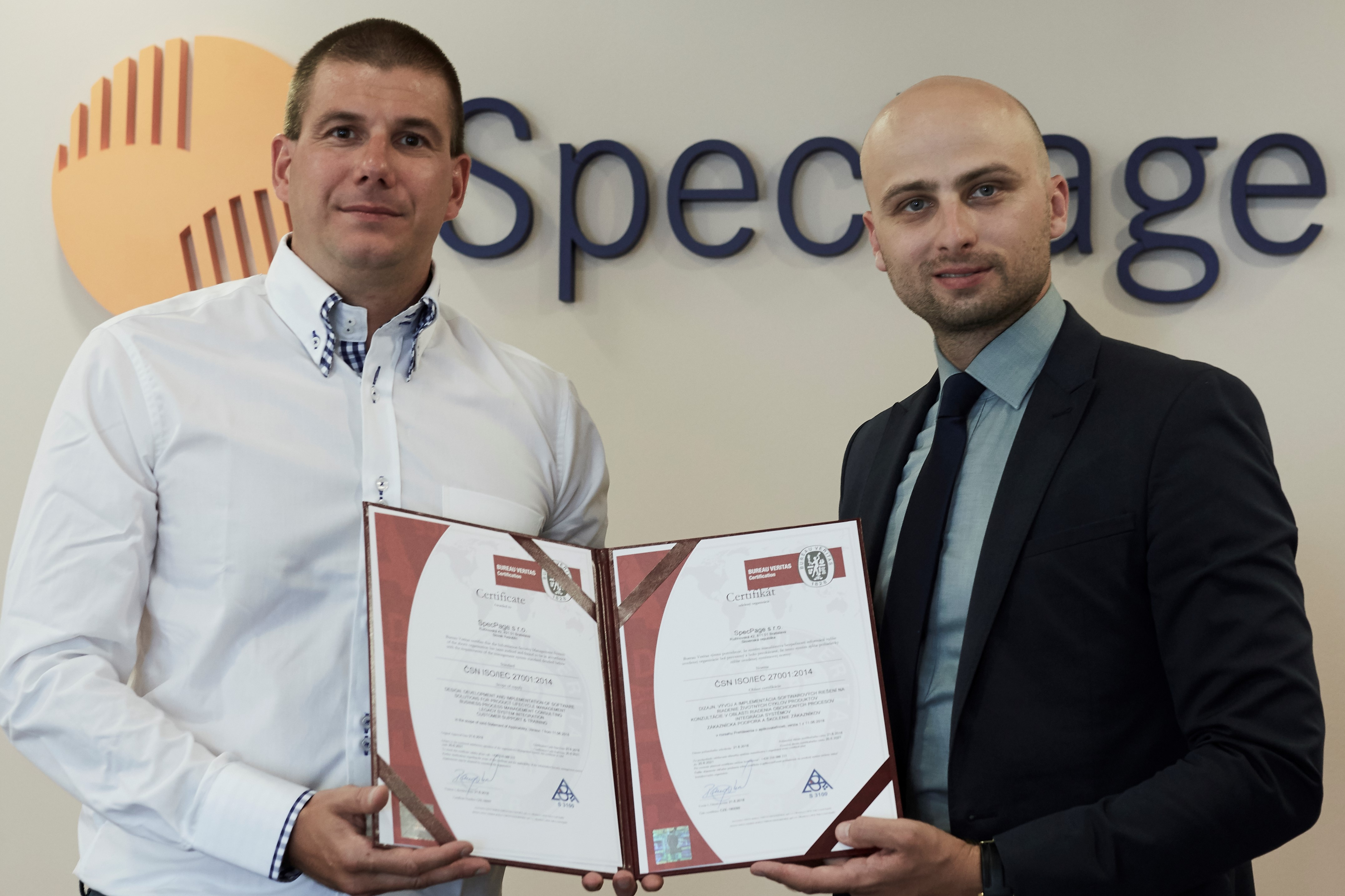 specpage earns coveted iso 27001 certification from bureau veritas group. Black Bedroom Furniture Sets. Home Design Ideas