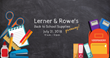 Lerner and Rowe Gives Back Phoenix Back-to-School Giveaway