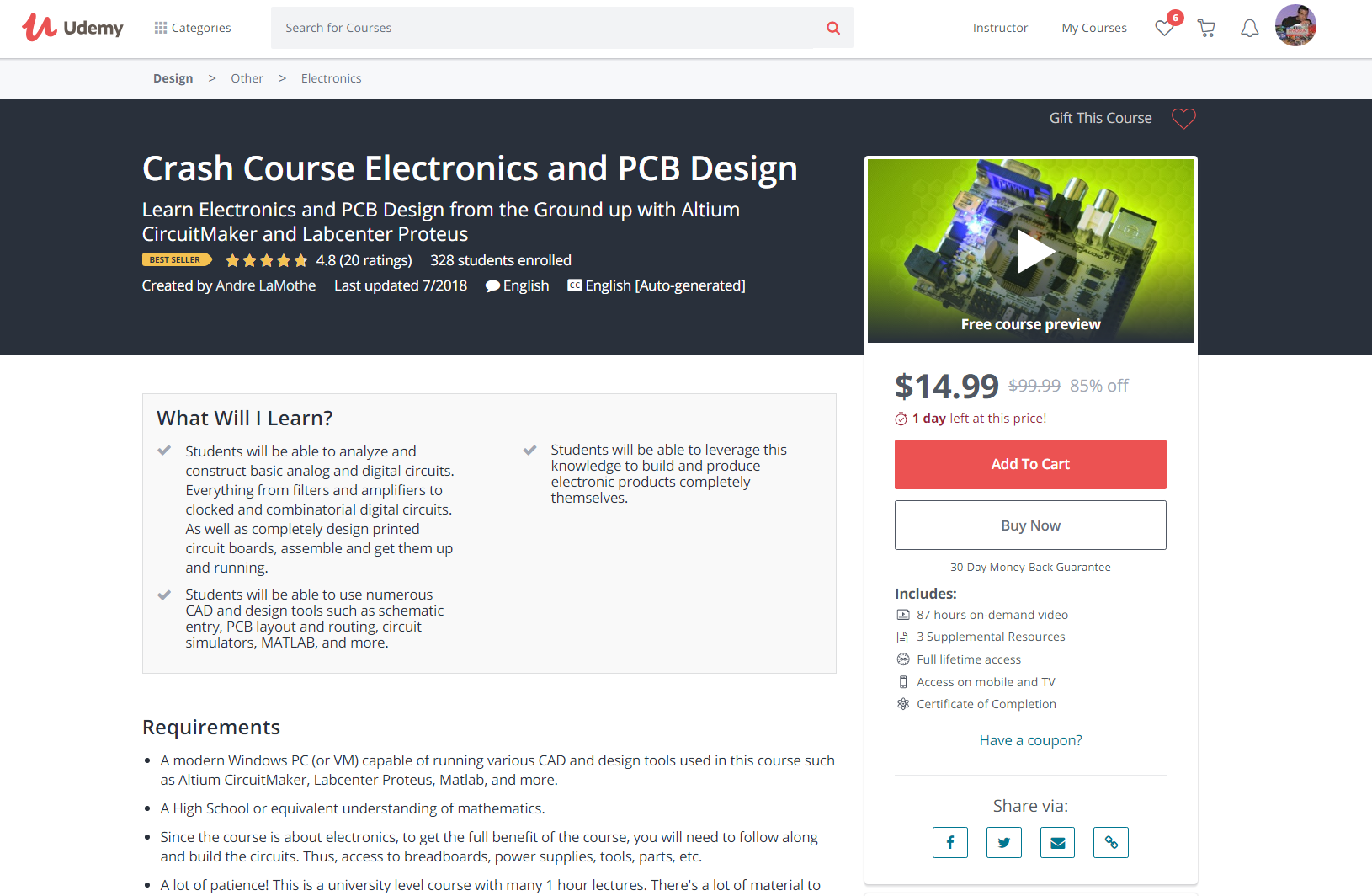 Hardware Hackers Rejoice: Learn Electronics and PCB Design from the ...