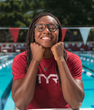 TYR Sport Signs 4x Olympic Medalist, 9x World Championship Medalist & World & American Record Holder Simone Manuel