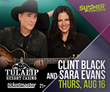 Clint Black and Sara Evans Only Show On One Bill This Year, Both Performing At Tulalip Resort Casino On Thursday, August 16