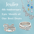 Premium Artisan Jewelry Brand Jeulia Celebrates 4th Anniversary and Rising to Millions of Customers