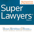 Miami Criminal Lawyer, Larry McMillan, Receives Super Lawyer Status in Super Lawyers Magazine