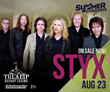 Styx Has Only One Washington Show Near Seattle, Tulalip Resort Casino Fans Turn Up In Force