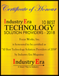 Focus Works Named One of the 10 Best Solution Providers 2018