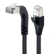 L-com Launches Cat5e Braid Shielded High-Flex Right-Angle Ethernet Patch Cords