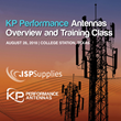 KP Performance Antennas & ISP Supplies to Hold Antenna Training Event on August 28th
