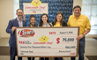 Raising Cane's Presents $75,000 Donation to Lemonade Day Youth Entrepreneurship Program Generated through National Fundraiser