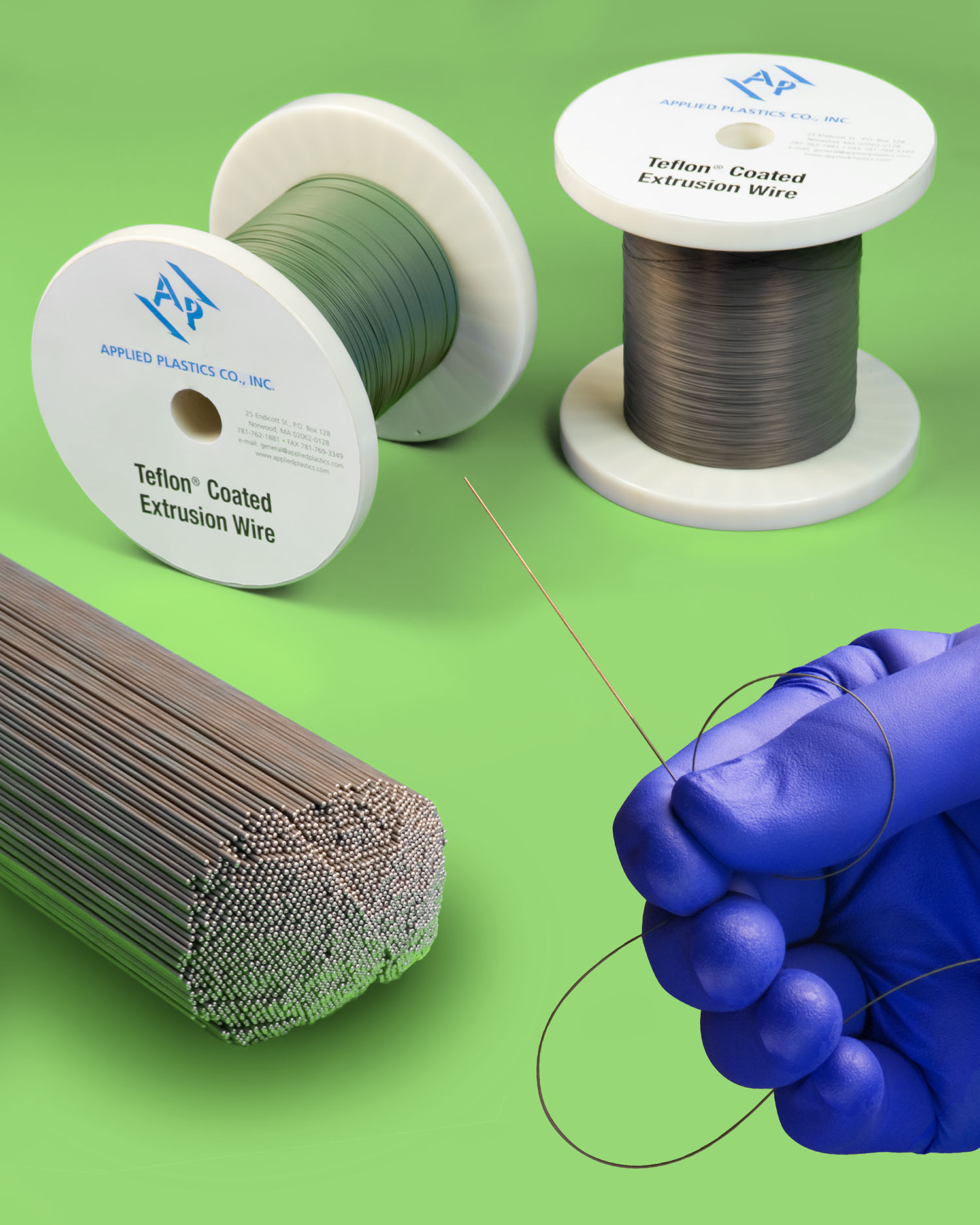 Applied Plastics Introduces Ptfe Natural 174 Coated