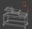 Eastern Tabletop Announces the Release of Their Most Versatile Rolling Buffet Product to Date – The Hub Buffet System