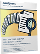 Just Released: Best Practices Guide for High-Quality Conference Content
