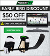 HockeyTV Offers Early Bird Discount, Saving Subscribers $50