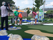 LPGA pro Danah Bordner (splits her time between Indianapolis, IN and Ohio) shared skills and secrets to success with youngsters at The Children's Museum of Indianapolis.