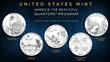 United States Mint Lifts the Curtain on Designs for the 2019 America the Beautiful Quarters® Program