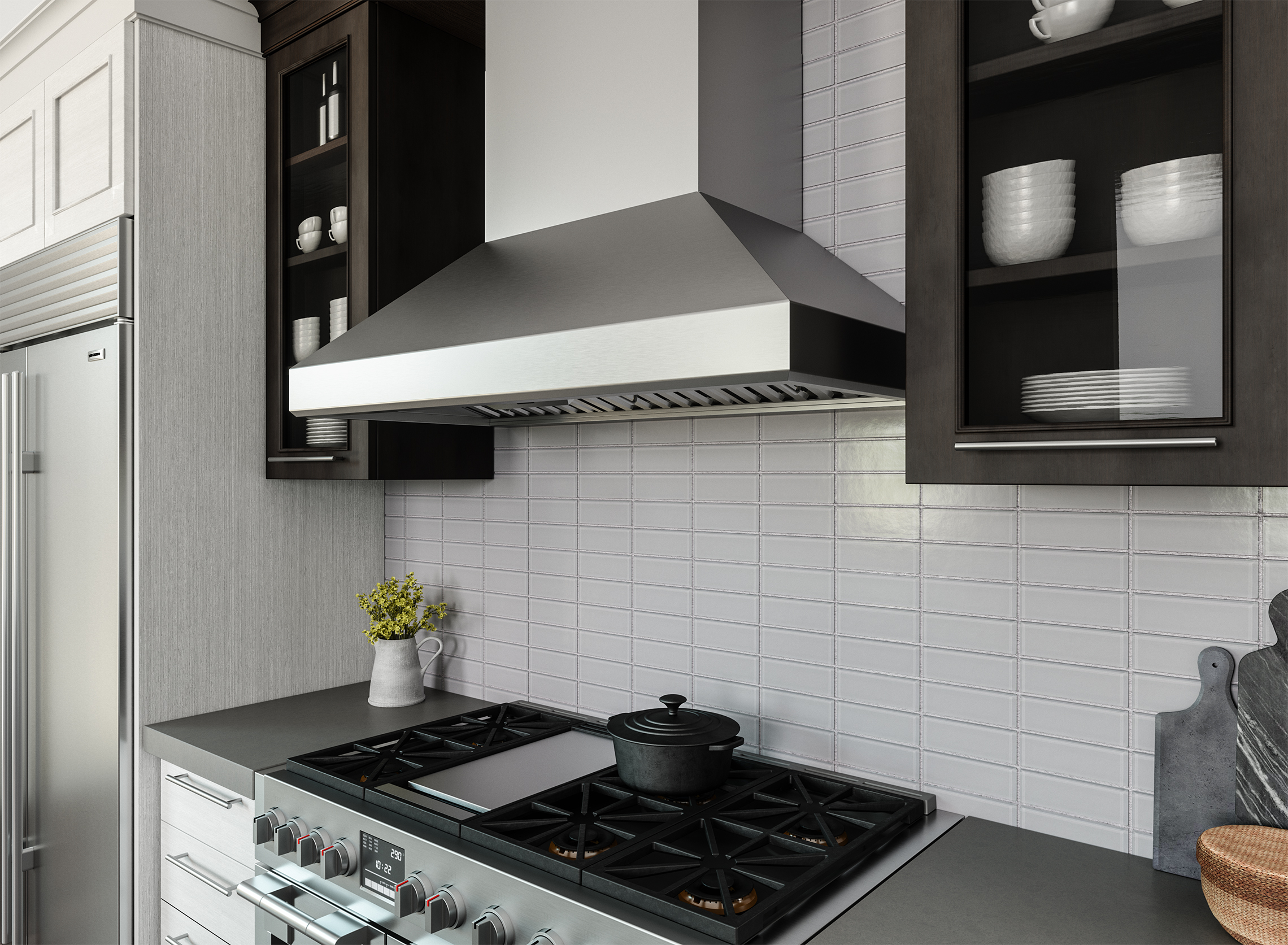 Charmant Zephyr Introduces Titan Range Hood With PowerWave™ Blower Technology
